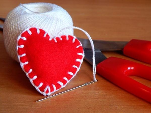 Сердца своими руками на 14 февраля